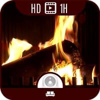 Kaminfeuer Ambiente HD [1+ Stunde Spielzeit - 5 Einstellungen]