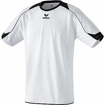erima Trikot Santiago - Camiseta de equipación de fútbol para hombre, color blanco/negro, talla 2XL