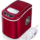 VAZILLIO Machine à Glaçons pour Maison/Office - 9 pcs en 6 Minutes - 15kg en 24 heures - 2 Tailles de Glaçons, Nouvelle Machi