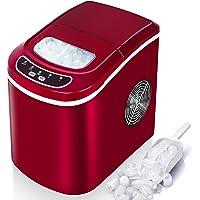 VAZILLIO Machine à Glaçons pour Maison/Office - 9 pcs en 6 Minutes - 15kg en 24 heures - 2 Tailles de Glaçons, Nouvelle…