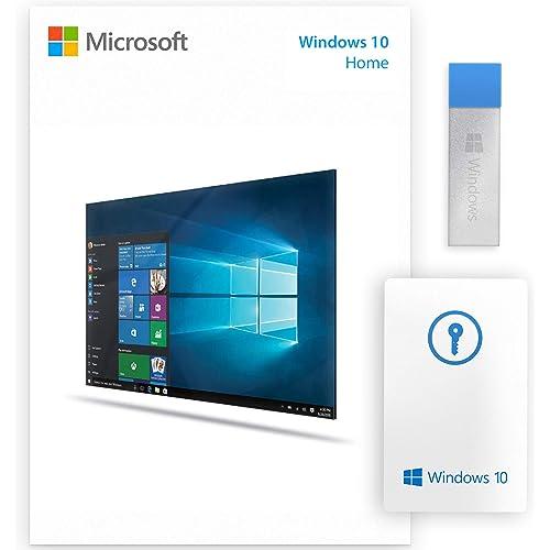 Windows 10 Home USB Stick + Licenza Key Card - Confezione Ufficiale - Attivazione Online - Fatturabile [usb_memory_stick]
