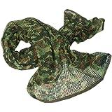 alpinisme Activit/é de plein air chasse hommes et femmes unisexe multi-usages bandeau militaire style t/ête wrap face mesh pour Airsoft QMFIVE /Écharpe tactique camouflage combat