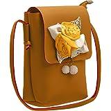 Tap Fashion Women's 3D Rose Flower Sling Bag With Adjustable Strap