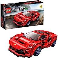 LEGO Le racer Speed Champions Ferrari F8 Tributo avec figurine de conducteur, Sets de construction de voitures de…