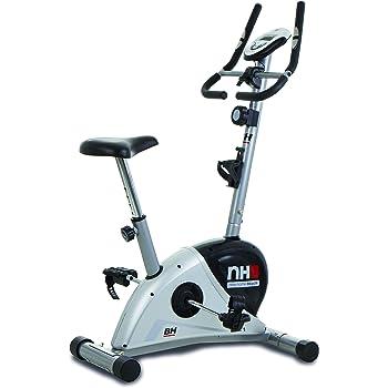 BH Fitness NHB H267N - Bicicleta estática unisex para adulto, gris plateado