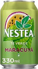 Nestea Té Verde con Maracuyá - Refresco de té sin gas. Bajo en calorías - Lata 330 ml