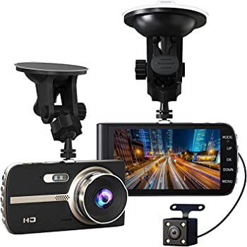 gtopin auto kamera 1080p full hd dashcam vorne und amazon. Black Bedroom Furniture Sets. Home Design Ideas