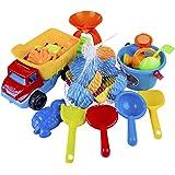 HAC24 10tlg. Sandspielzeug Set Sandkasten Spielzeug