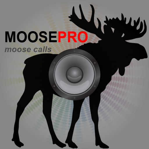 REAL Moose Calls App for Moose Hunting and Big Game Hunting - (ad free) BLUETOOTH COMPATIBLE