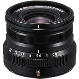 Fujifilm Fujinon XF 16mm F2.8 R WR Prime Lens - Black (Weather Resistance)