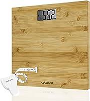 Cecotec Surface Precision Báscula de baño digital, Pantalla LCD invertida, Capacidad máxima 180kg, Lista para usar y con...