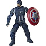 Hasbro Marvel Legends Series Gamerverse 6-inch Collectible Captain America Action Figure Toy, Ages 4 And Up