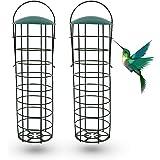 Ulikey Mangeoires pour Oiseaux Sauvages, Mangeoire À Oiseaux, Mangeoire Oiseaux Exterieur, Mangeoire à Oiseaux Distributeur S