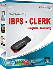 150 Offline Practice Test Papers for IBPS Clerk exam (Medium: English, Pen Drive, 10 All India Mock tests)