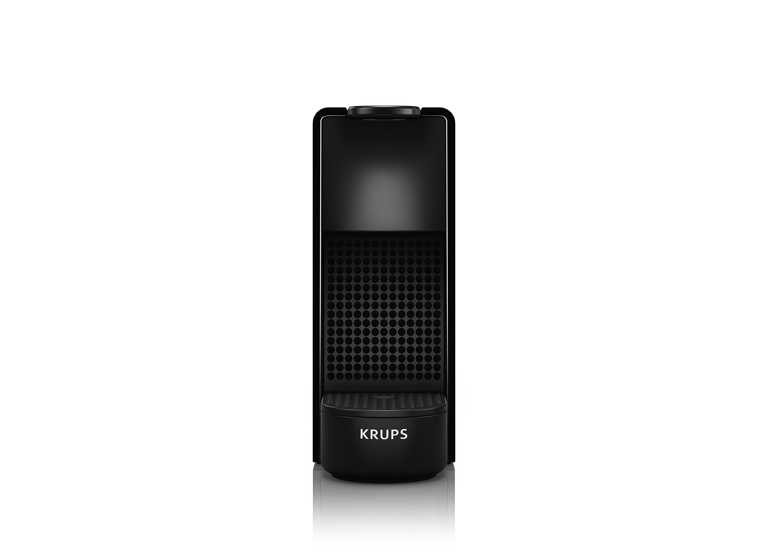 71ww9j4sBHL - Krups Nespresso XN1108 Essenza Mini coffee capsule machine, 1260 watts, black, 0.6 liters