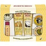 Burt's Bees, Kit da regalo per mani e piedi, incl. 1 crema per cuticole al limone (8,5 g), 1 balsamo per le mani (8,5 g), 1 c