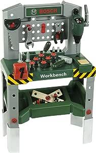 Theo Klein 8637 - Bosch Werkbank mit sound, adjustable ...