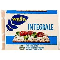 Wasa Cracker Integrali, Fette Integrali di Pane di Segale Croccante, Extra Sottili - 275 gr