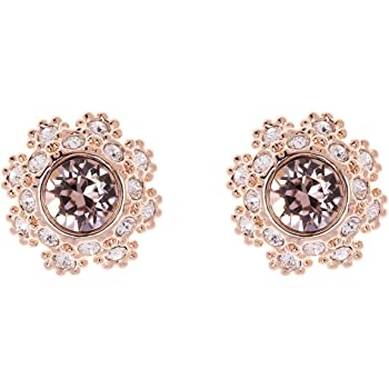 Ted Baker Eisley Button Stud Earrings Rose Gold Baby Pink Amazon