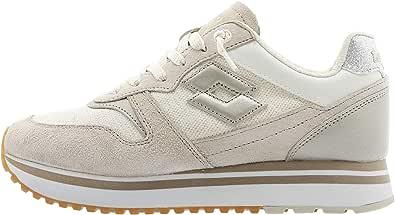 Lotto 211170 Sneakers con Lacci in Tessuto E CAMOSCIO da Donna