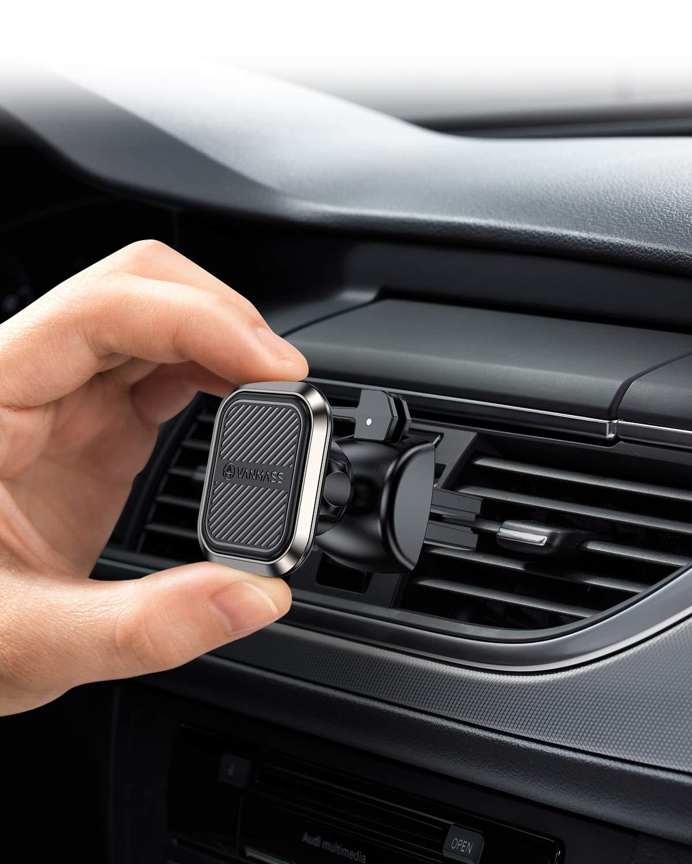 VANMASS-Handyhalterung-Auto-Magnet-Handyhalter-frs-Auto-Lftung-Upgrade-Superstark-6-Magnete-und-4-Metallplatten-Magnetischer-360Drehbar-KFZ-Handyhalter-Universal-fr-iPhoneSamsungHuawei-iPad-usw
