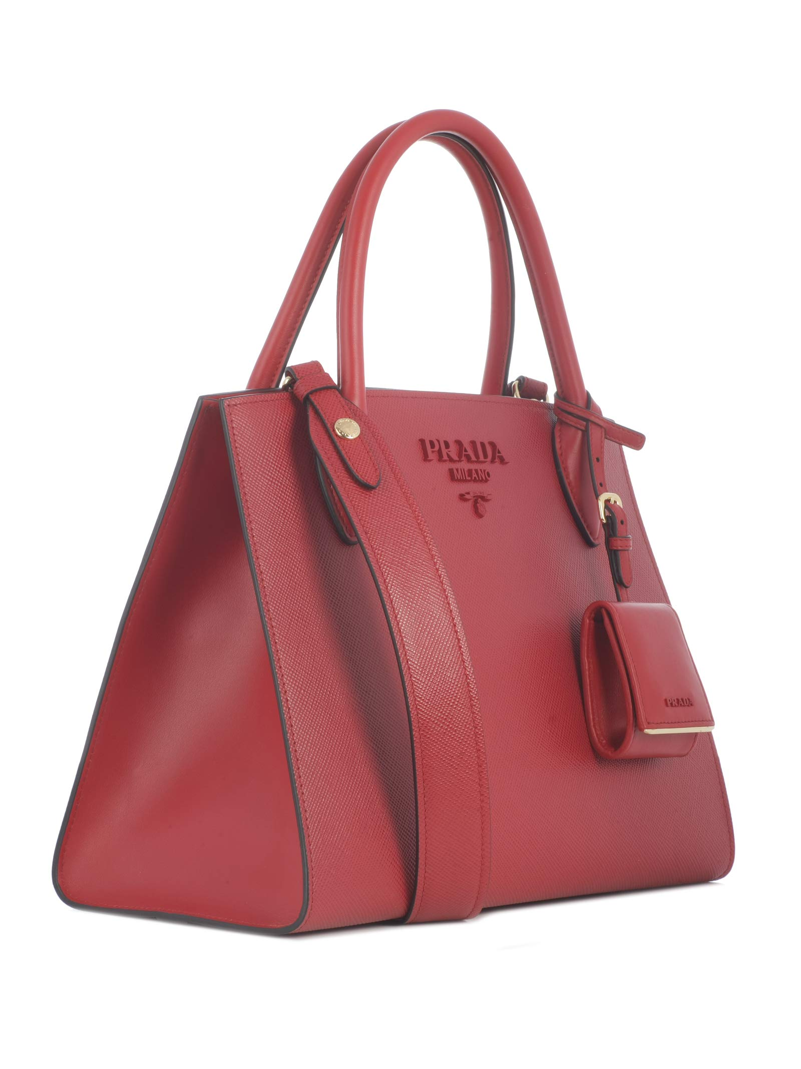 c15655ee1a Prada, Borsa a mano donna Rosso rosso trova prezzo offerta