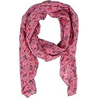 Zwillingsherz Seiden-Tuch - Hochwertiger Schal für Damen Mädchen - Halstuch - Umschlagstuch - Paisley - Blumen - weicher…