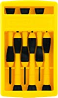 Stanley 6 pieces Bi-Material Precision Screwdriver set - 60-100