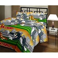 Adore u Tom & Jerry Cartoon Character Kids Single Bed Reversible AC Dohar/Blanket (Set of 1)