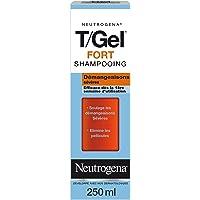 Neutrogena T/Gel Fort Shampoing Antipelliculaire Contre les Démangeaisons Sévères, 250 ml