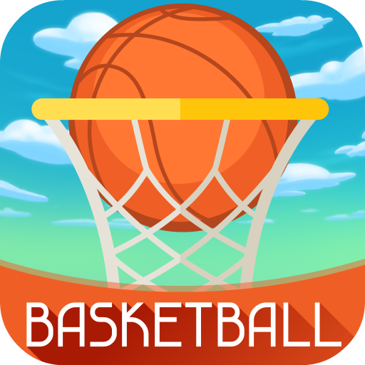 Basketball Challenge - Free Basketball Hoops Game, Aim the Ball to The Goal with Screen Trajectory (Street-basketball-moves)