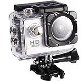 Hopcd Mini sportkamera, 5 cm hög upplösning mini DV actionkamera videokamera med 30 meter vattentålig, stöder 32G minneskort