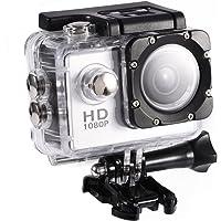 Tosuny Videocamera Mini DV Sport, 1080P HD da Esterno Impermeabile per riprese Sportive, Schermo ad Alta Definizione da…