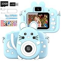 Hangrui Appareil Photo pour Enfant,2.0 Pouces Enfant Appareil Photo Numérique,16 Méga Pixels/1080P Caméra avec Objectif…