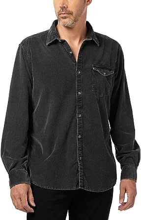 PIONEER Men's Shirt L/S Cord Casual