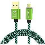ULTRICS Micro USB Kabel 3m, Nylon Geflochten Ladekabel High Speed 480Mbps Datenkabel, Schnellladekabel Kompatibel mit Samsung Galaxy S6/S7 Edge, Sony Nokia LG, PS4 Xbox, Tablet und andere Android