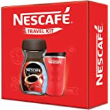 Nescafe Travel Kit (Red) - NESCAFÉ Classic Coffee, 200g with Travel Mug (Limited Edition)