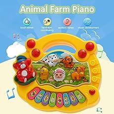 Munchkin Land Animal Farm Piano Music Toy - Random Colours