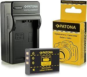 Patona 3in1 Ladegerät Akku Np 120 Kompatibel Mit Fujifilm Finepix F10 F11 M603