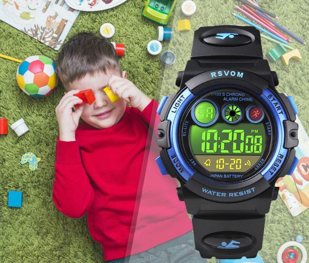 Regali Di Natale Per Bambini 5 Anni.Orologio Da Bambini Per Ragazzi Orologio Da Polso Impermeabile Da 5