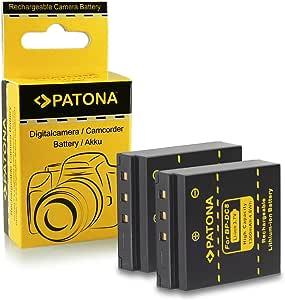 Patona 2x Akku Bp Dc8 Kompatibel Mit Leica X Vario X1 Kamera