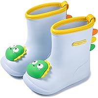 Nasogetch Stivali di Gomma Bambini Stivali Pioggia Bambina Bambino Stivali Impermeabili Stivaletti Pioggia per Ragazzi e…