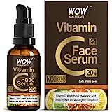 WOW Skin Science Vitamin C Serum - Brightening, Anti-Aging Skin Repair, Supercharged Face Serum, Dark Circle, Fine Line & Sun