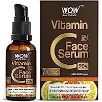 WOW Skin Science Vitamin C Serum - Brightening, Anti-Aging Skin Repair, Supercharged Face Serum, Dark Circle, Fine Line…