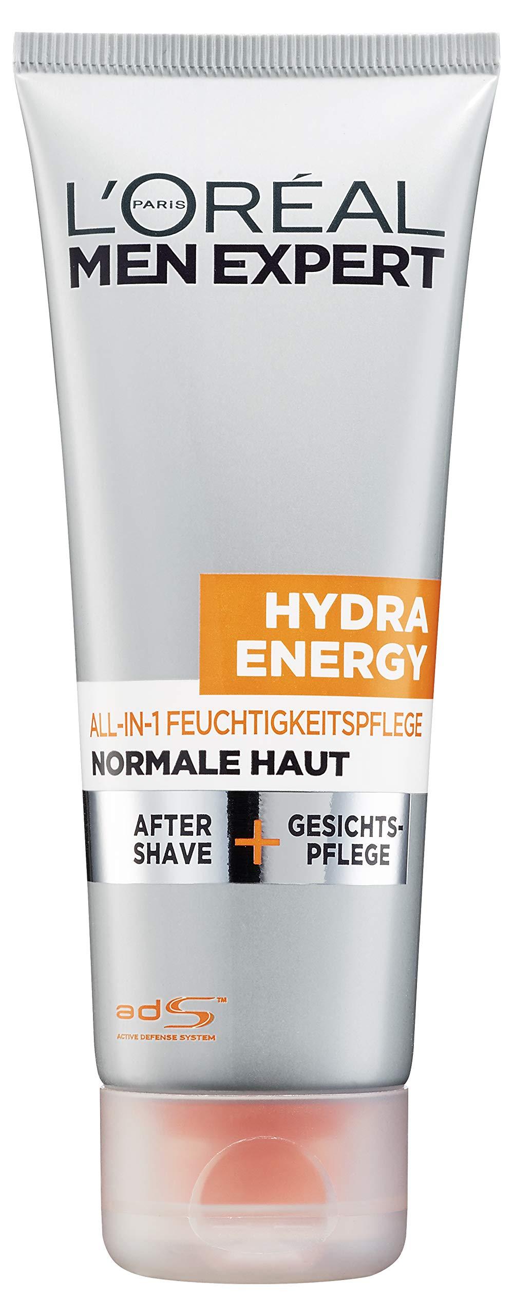 L'Oreal Men Expert Hydra Energetic All-in-1 75ml crema hidratante, 1er Pack (1 x 75 ml)
