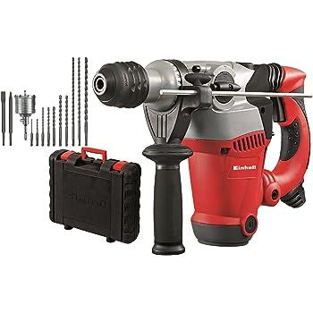 Einhell 4258485 Kit Martello Tassellatore a 4 Funzioni RT-RH 32, 1250 W, 230 V, Grigio, Set di 2 Pezzi