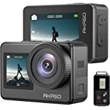 AKASO Brave 7 4K30FPS 20MP WiFi Action Camera with Touch Screen IPX8 33FT Waterproof Camera EIS 2.0 Zoom Support External Mic