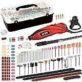 SPTA RT388AC Mini slijper multifunctioneel gereedschap met 385 accessoires en 3 opzetstukken allrounder voor ambachtslieden e