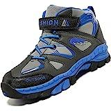 Unitysow Zapatillas de Senderismo para Niño Zapatillas y Calzado Deporte Niños Impermeables Botas de Senderismo Aire Libre Mo