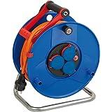 Brennenstuhl Garant Kabelhaspel, IP44, 40 m kabel, oranje, speciaal kunststof, gebruik buitenshuis, Made in Germany Single 40